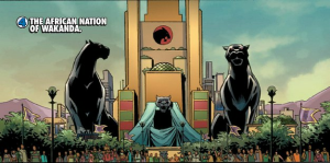 The Nation of Wakanda as shown in Avengers Earth's Mightiest Heroes