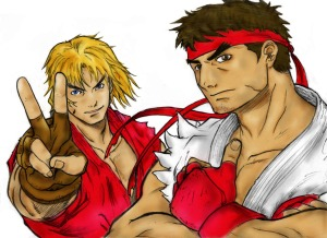 Ryu and Ken by African Samurai